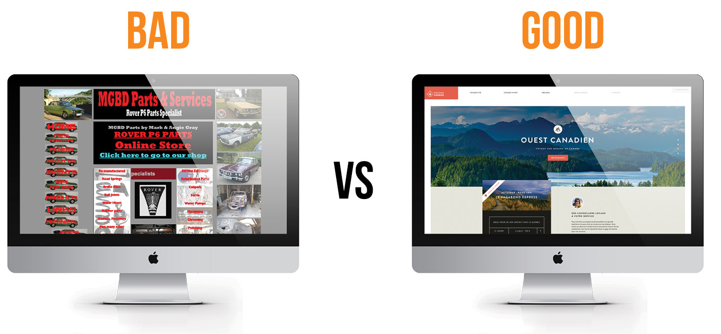 Factors that Separate Good Website from Bad Website